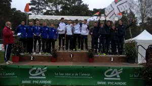 podium junior masculin
