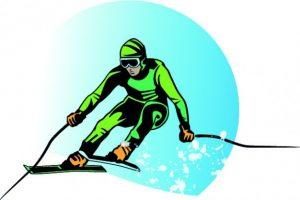 skieur-vert-vecteur-de-fond-de-bande-dessinee_91-9665
