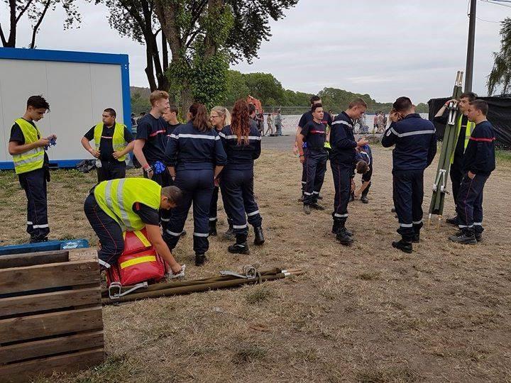 rencontre européenne des jeunes sapeurs-pompiers